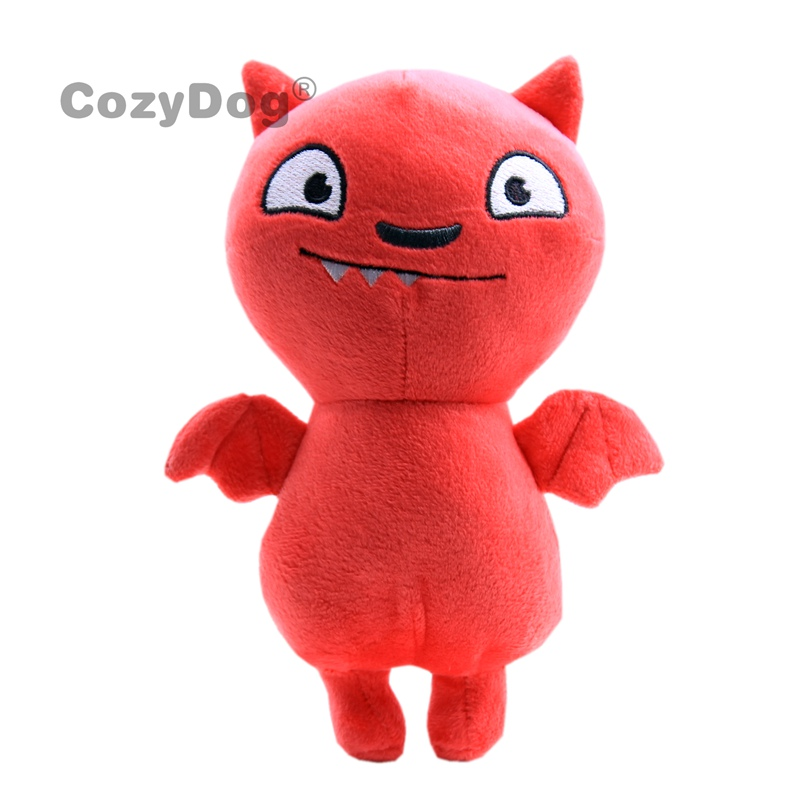 18cm Cute Red Uglydoll Cat Plush Toys Doll Peluche Japan Anime Ugly Doll Pillow Soft Sleeping Toys Baby Kids Birthday Gift