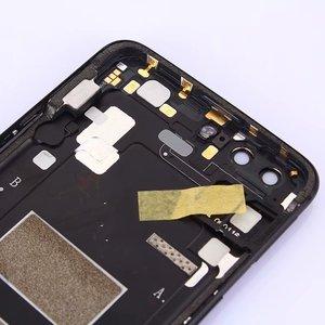 Image 5 - Oneplus5 100% Orijinal Arka Konut Kapak Için Oneplus 5 Metal Arka Kapı Tamir Pil Kutusu + Kamera Cam SIM Yuvası