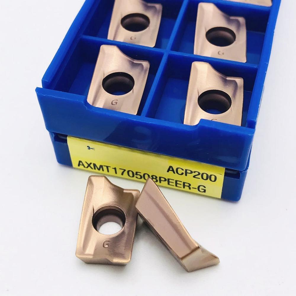 10pcs WCMT080412FN ACZ330 CNC machine tool U drill inserts tool accessories