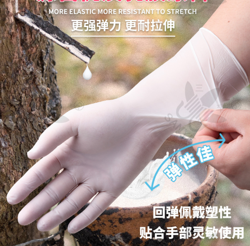 Disposable Nitrile Gloves Food Grade Material Hands Protection Tattoo Electronic Experiment Check Gloves 100pcs