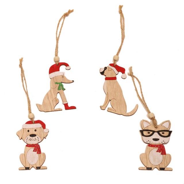 Dog Christmas Tree Pendant Home 4