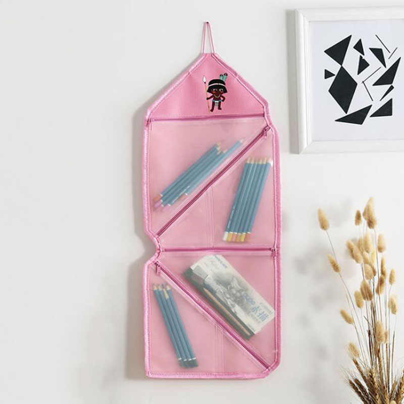 Torby kosmetyczne łazienka akcesoria mody wiszące składany organizator torba kobiet makijaż etui do przechowywania torba podróżna kosmetyczka