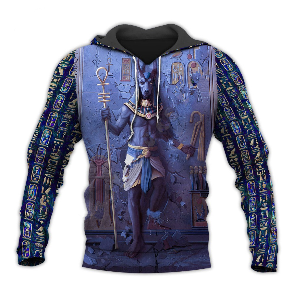 Liumaohua Horus Egyptian God Eye of Egypt Pharaoh Anubis Ancient Egypt 3DPrint Zipper/Hoodies/Sweatshirt/Jacket Fashion tops 1