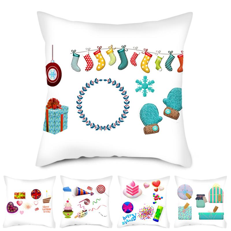 Nanacoba рождественский подарок чехол для подушки рождественские