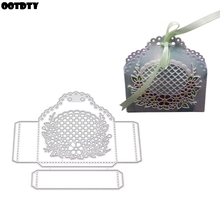 3D Candy Box Metal Cutting Dies Stencil DIY Scrapbooking Album Stamp Paper Card Embossing Crafts Decor