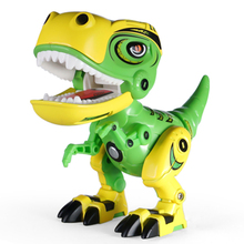 Buy New Screaming Tyrannosaurus Rex Toys Electric Dinosaurs WIth Sound Effect and Light Phone stand Dinosaurs For Chidlren Gifts directly from merchant!