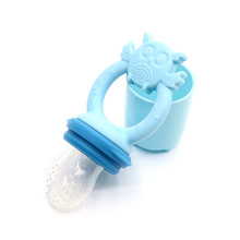 Fruit-Feeder Food-Feeding-Tool Bpa-Free Newborn Baby Silicone Kids with Soft Pacifiers