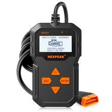 OBD2 السيارات السيارات ماسح ضوئي تشخيصي كامل OBD طرق أدوات المسح قارئ رمز السيارة التشخيص سيارة ODB 2 Pk AD310 ELM327