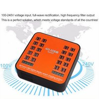 Multi Fast USB Charger Charge Multiple 40 USB Phone Charging Station Universal USB HUB Smart Charger