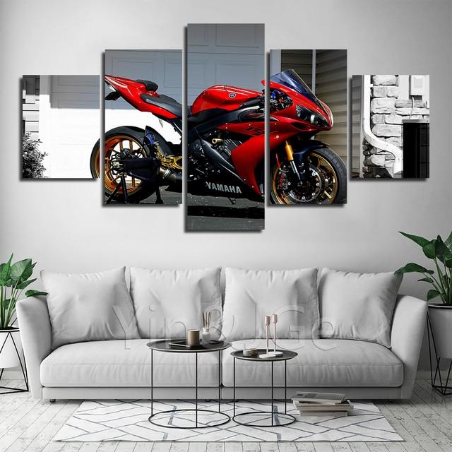 Toile moto Yamaha 2