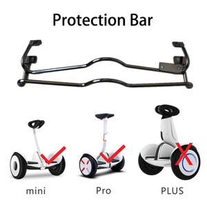 For Ninebot MiniLITE MiniPro Scooter Protection Frame Aluminum Alloy Bumper Front Rear Protective Bar with Parking Kick Stand