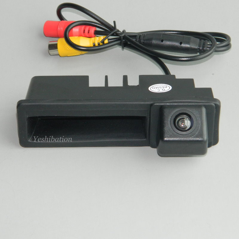 For Audi A3 S3 RS3 8P A4 S4 RS4 B6 B7 Car Rear View Trunk Handle Backup Reverse Camera Parking Camera