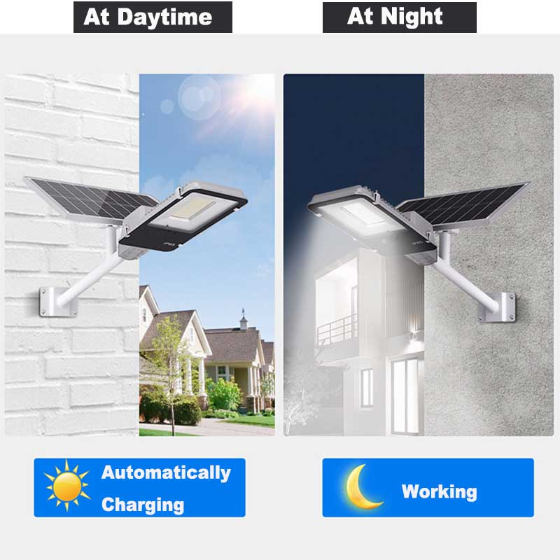 BEYLSION LED Solar Street Light Solar Light Outdoors Solar Street Lights Solar Lamps  Outdoor Lamps 50W 100W + Remote Controller 3