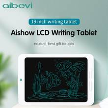 Aibevi Electronic Graphic Tablets 19'' Drawing Board LCD Screen Writing Tablet Digital Drawing Electronic Handwriting Pad Board