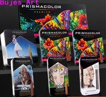 Eua oem prismacolor 24 48 72 132 150 lápis de cor de óleo profissional desenho esboço cor lápis arte material escolar lapis de cor