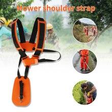 1PC Lawn Mower Shoulder Strap Orange for Strap Grass String Trimmer Brush Cutter Belt Shoulder Harness Strap Lawn Mower