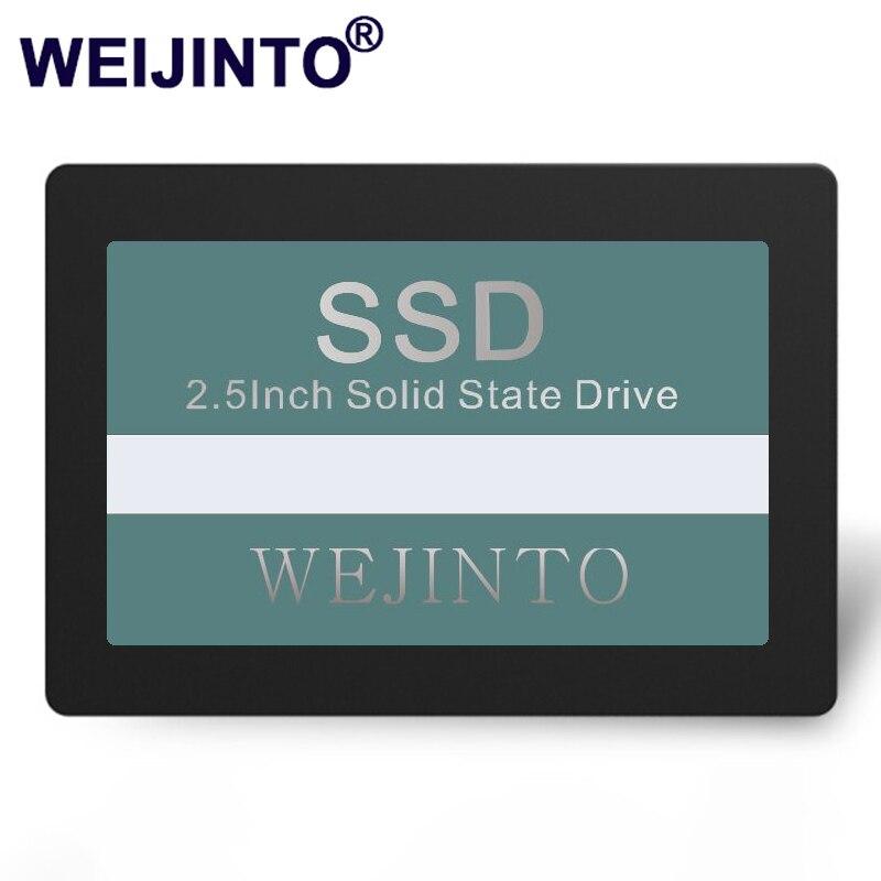 Твердотельный накопитель WEIJINTO, 2,5 дюйма, жесткий диск SSD для ноутбука и ПК, 120 ГБ, 240 ГБ, 60 ГБ, 128 ГБ, 256 ГБ, 512 ГБ, 480 ГБ, 960 ГБ, 360 ГБ, 32 ГБ, 16 ГБ, 8 ГБ