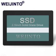 WEIJINTO-SSD de estado sólido interno para ordenador portátil, 120GB, 240GB, 60GB, 128GB, 256GB, 512GB, 480GB, 960 pulgadas, 32GB, 16GB, 8GB