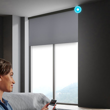 Blinds Hard-Wired-System Electric-Roller Broadlink Alexa Office Motorized Customize-Size