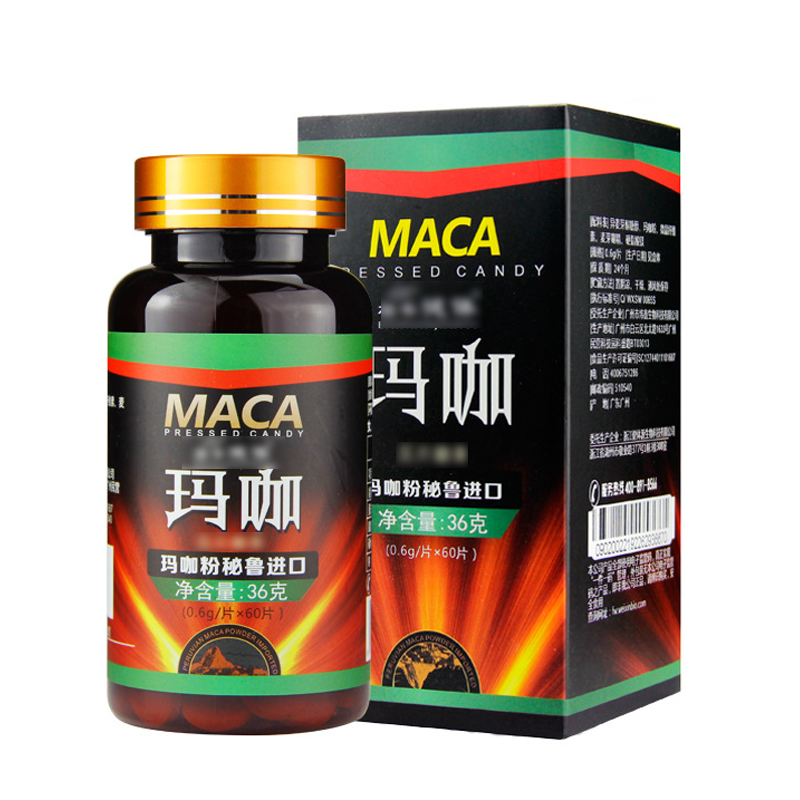 Ginseng Maca Pills,male Erection Essential Oil,Epimedium Promoting Energy,Aphrodisiac, Strong Erections Capsules
