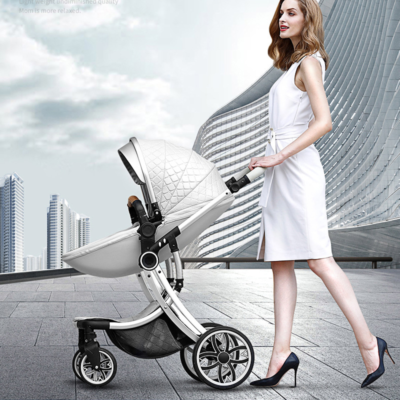 Baby Stroller High Landscape Carriage 2019 New 2 In 1 Infant Travel Pram