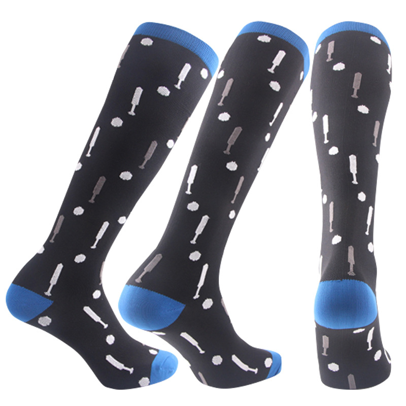 Compression Socks Stockings Anti-Fatigue Stretch Leg Knee-High Men for Pain-Relief 15-Styles