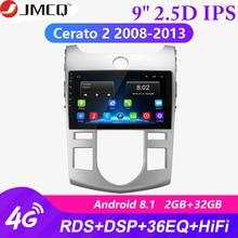2G+32G Android 8.1 4G+Wifi Car Radio for Kia Cerato 2 TD 2008-2013 Navigation GPS Autoradio Hifi Touch Screen Stereo Head Unit eincar android 6 0 car stereo 1080p touch screen double din car autoradio head unit gps navigation 4g wifi obd2 fm am rds radio