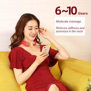 Image 4 - Masajeador eléctrico inteligente para cuello y hombros, herramienta para aliviar el dolor, relajación para el cuidado de la salud, fisioterapia de vértebra Cervical