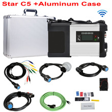 High Quality MB Star C5 In Aluminum Case SD Connect C5 Vediamo DTS 2021.03 Star Diagnosis Software HDD SSD Best Diagnostic Tool