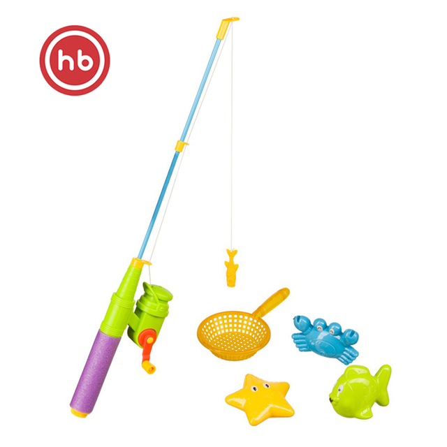"""Набор игрушек для ванной Happy Baby """"LITTLE FISHMAN"""""""