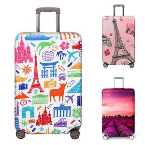 Image 1 - VOGVIGO, Maleta de viaje más gruesa, Fundas protectoras para la caja del maletero, se aplica a 18  32, cubierta de la maleta, elástico perfectamente, nuevo