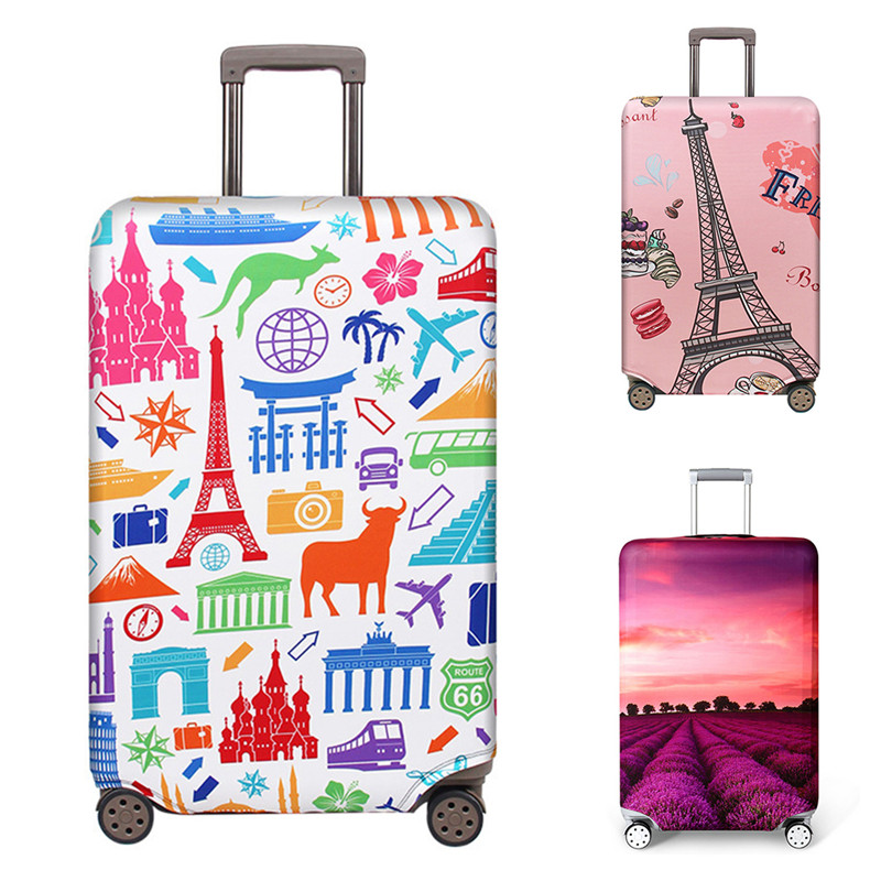 VOGVIGO Thicker Travel Luggage Suitcase Protective Covers For Trunk Case Apply To 18''-32'' Suitcase Cover Elastic Perfectly New