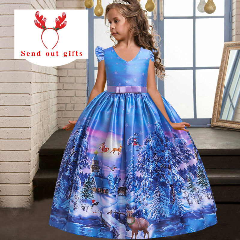 Girls Christmas Halloween Party Dance Performance Banquet President's Dress Teenagers Baptist Party Festival Party Dress