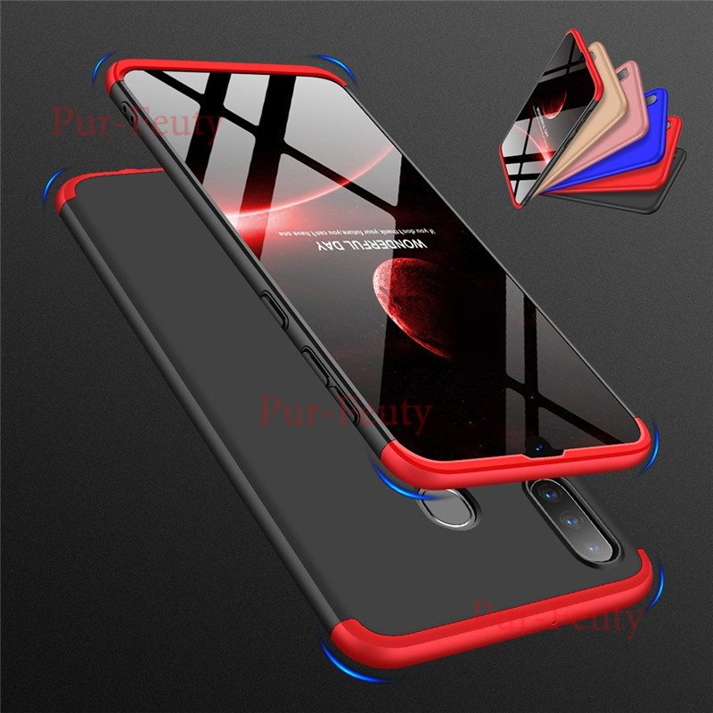 360 Full Case For <font><b>Samsung</b></font> Galaxy Note 10 Plus A80 A90 70 A60 A50 A40 S <font><b>A30</b></font> A20 A10 M10 M20 M30 M40 Thin Slim Hard PC Back Cover image