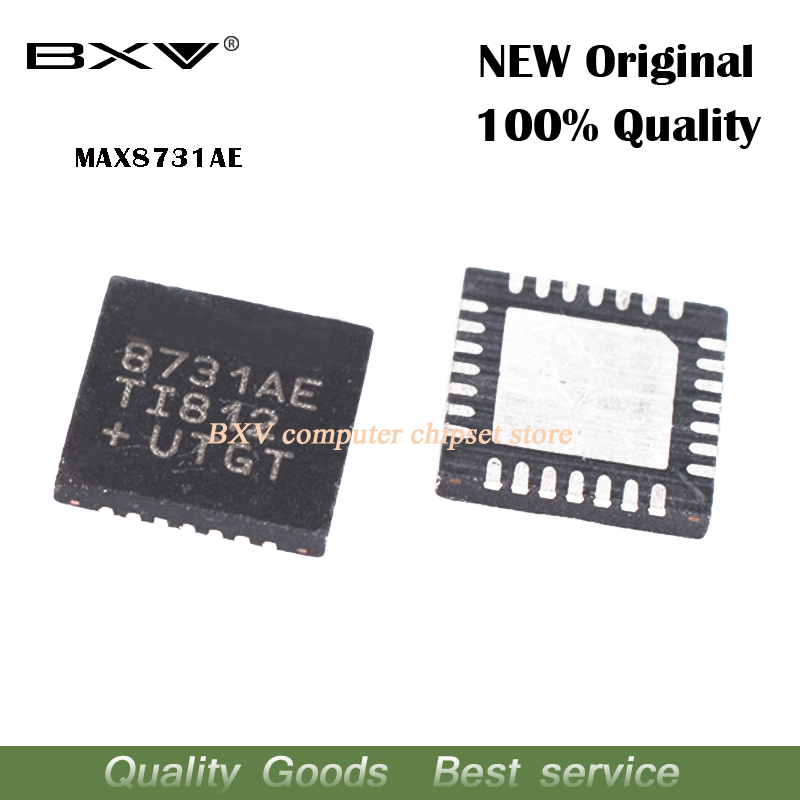 5pcs MAX8731AETI MAX8731AE MAX8731A MAX8731 8731AE QFN New Original Laptop Chip Free Shipping