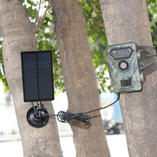 Battery Camera Solar-Panel WIFI Ordinary Charger Outdoor 1800mah 9V Waterproof for Excluding