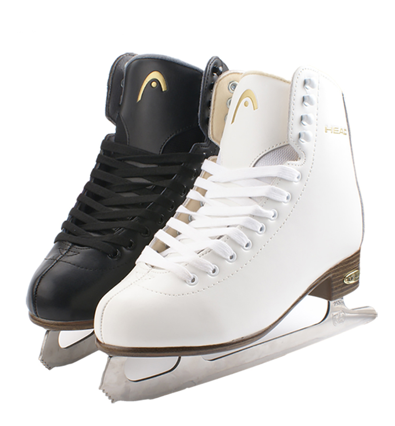 One Pair Children Kids Winter Adult Professional Thermal Warm Thicken Ice Figure Skates Shoes With Ice Blade PU Waterproof
