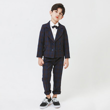 New Elegant Party Suit Boys 2021 Formal Boys Attire Wedding Boys Prom Suits Pianno Perform Dress Custom Made Colors