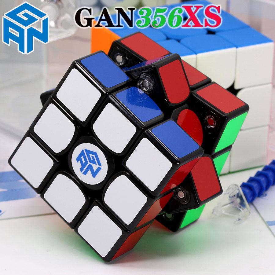 Magic Cube Puzzle GANCUBE GAN356 GAN 356XS  X Gan356xs 3X3X3 Professional Magnetic Magnet Cube GAN356X Speed Cube
