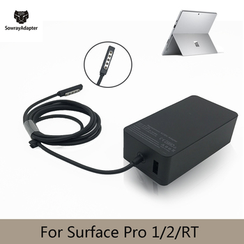 12V 3.6A 48W Charger for Microsoft Surface Pro 1 pro 2 RT Windows 8 power adapter 1601 1536 charger fast charge with 5V 1A 1