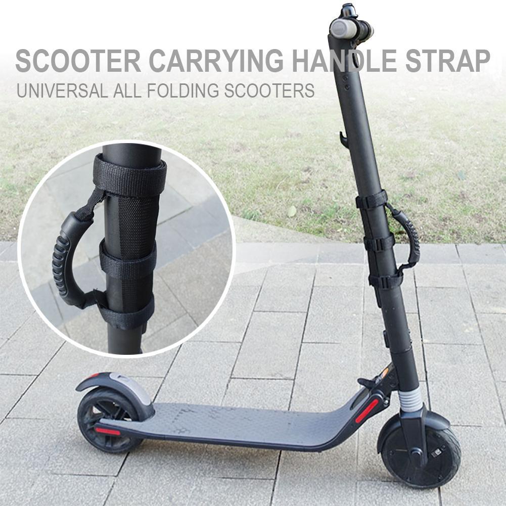 Portable Scooter Hand Carrying Handle Strap for Xiaomi M365 Ninebot ES1 ES2 ES3 ES4 Belt Webbing Hook Bike Accessories