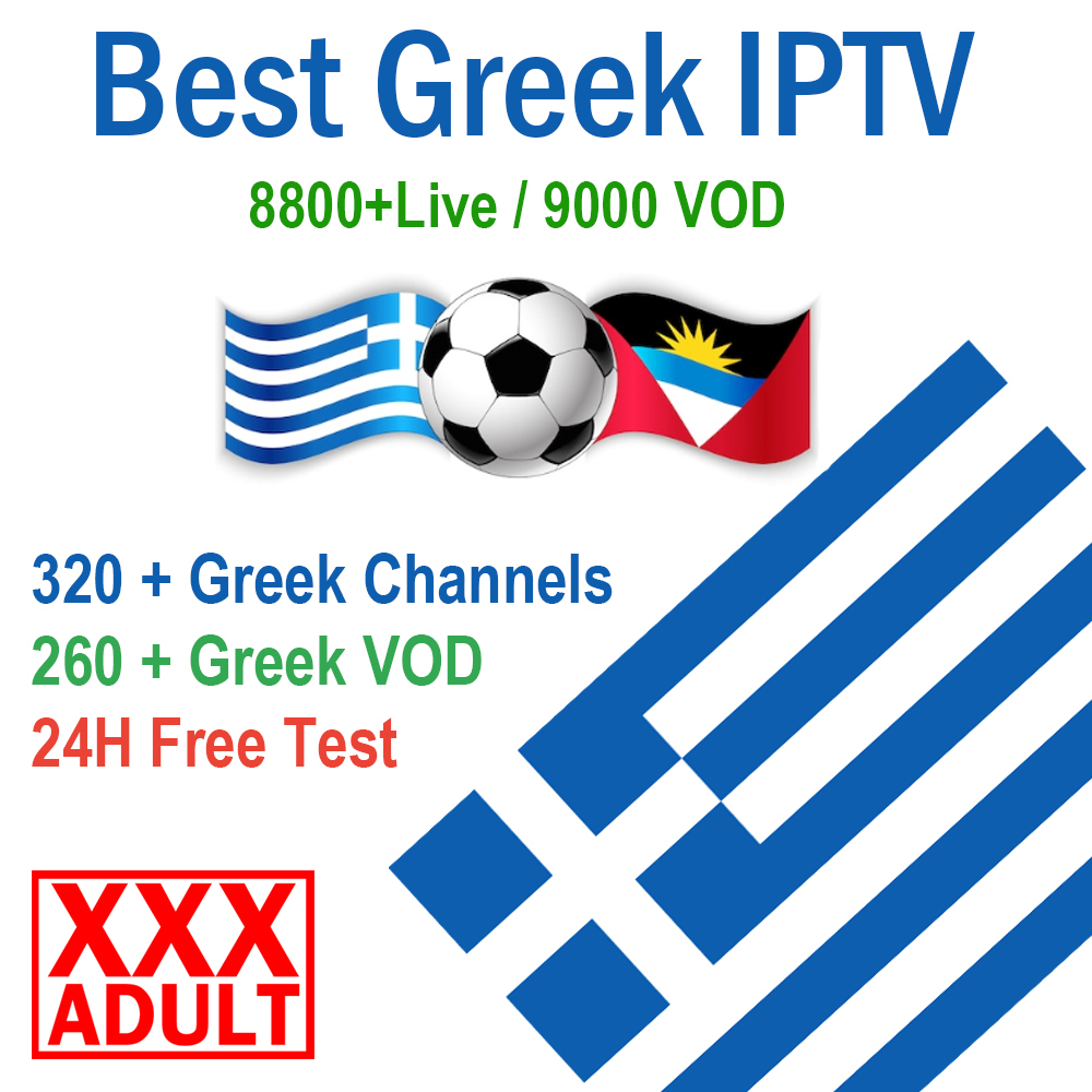 Greek IPTV M3U Subscription 5500+ Live Streaming Stable Sports For Greece/UK/German/Cyprus/Arabic