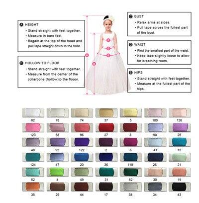 Лавандовое милое Пышное Платье Для Девочек Цветочная аппликация с буфами, фатиновые платья с рюшами для девочек детское вечернее платье - 5
