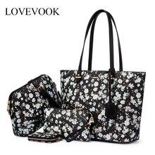 LOVEVOOK women handbags bag set 4 pcs shoulder bag Tote Hobo