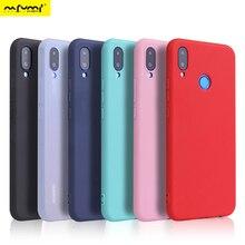 Мягкий яркий цветной чехол для huawei Y9 Y6 Y5 Prime P20 P9 P10 Коврики 10 Lite Honor 10 9 Lite 7C 7A Pro 8X 8C P Smart чехлы