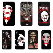 For Huawei Honor 4C 5A 5C 5X 6 6A 6X 7 7A 7C 7X 8 8C 8S 9 10 10i 20 20i Lite Pro Soft TPU Phone Horror Saw Mask Man Terrible(China)