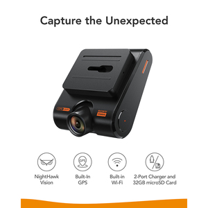 Image 2 - Anker Roav Dash Cam S1, Dashboard Camera with Sony Sensor, Full HD 1080p, NightHawk Vision,Built In GPS, Wi Fi & Wide Angle Lens