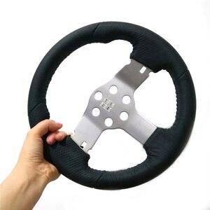 Image 2 - Steering Wheel Leather Wheel for Logitech G27 G29 Racing Car Simulator Upgrade Parts