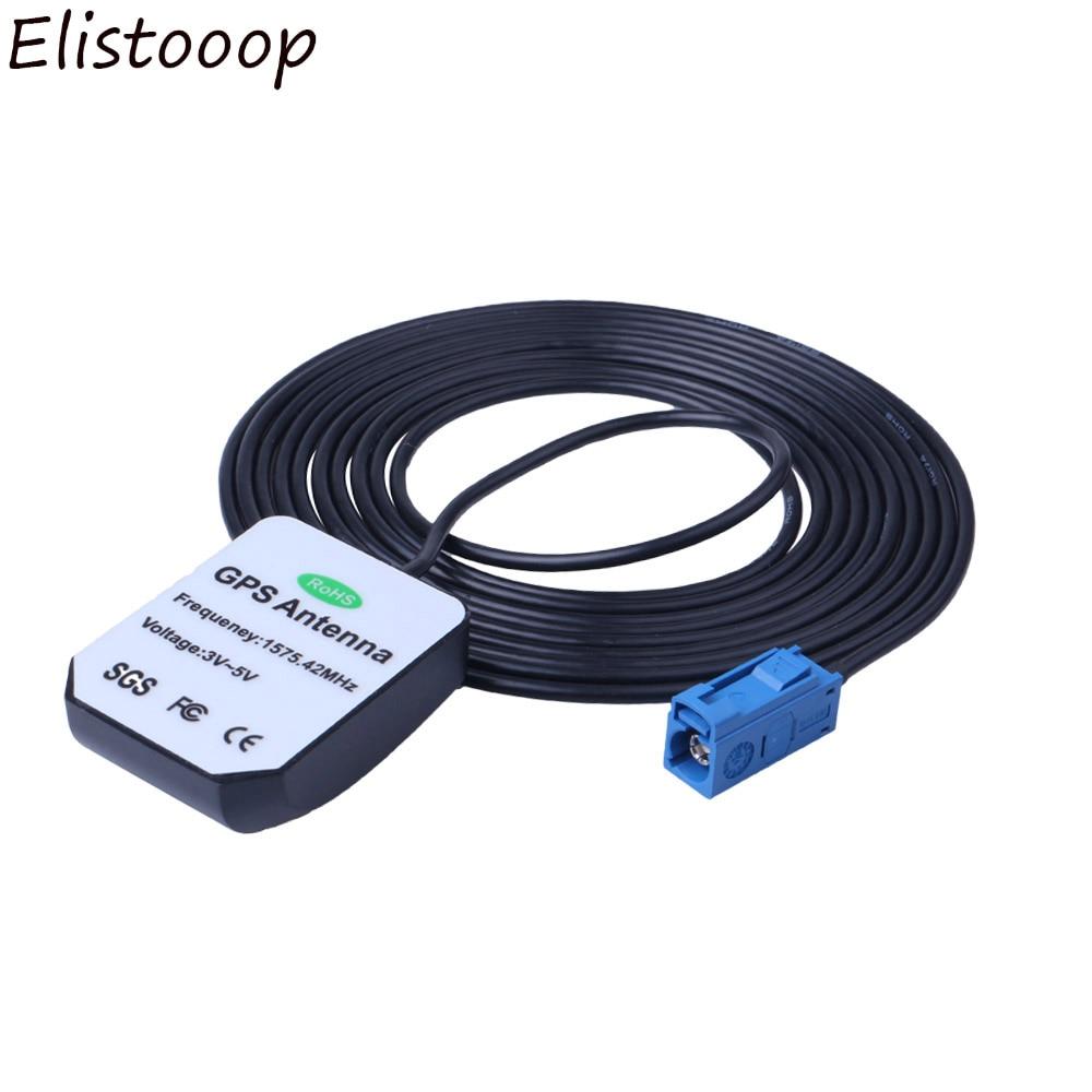 GPS-антенна Fakra MFD2 RNS2 RNS 510 MFD3 RNS-E Автомобильная GPS-антенна для определения местоположения для VW Skoda, Benz, Audi