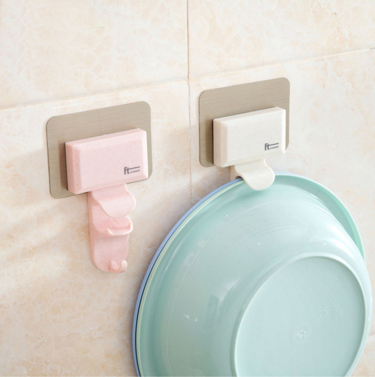 Bathroom Wall Hook Basin Bathroom Creative Chuck Up Toilet Strong Hanging Washstand Hang Basin